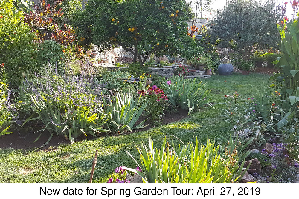New date for Spring Garden Tour: April 27, 2019
