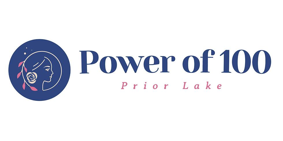 Summer '21 Power of 100 Prior Lake Meeting