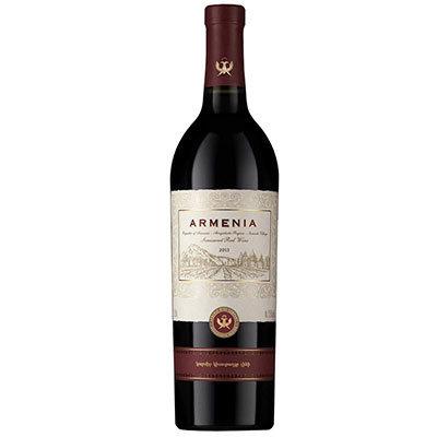 """Вино """"Армения"""" Красное Полусладкое 0.75 л"""