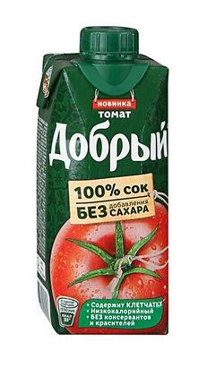 добрый томат 0,33 л