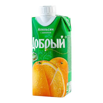 Добрый апельсин 0,33 л
