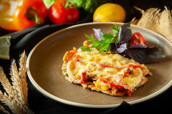 Куриное филе с сыром (ресторан)