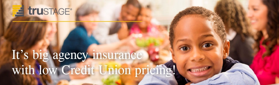 TruStage low-cost or no-cost insurance policies for credit union members