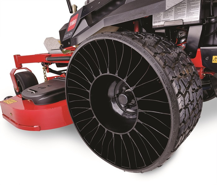 """Tweels"" are the latest option on Z-Master mowers. Ask about them!"