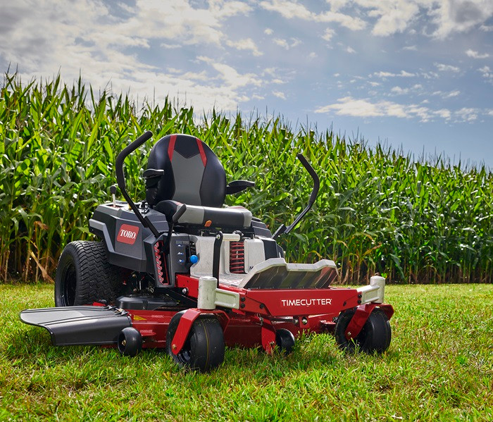 Isn't it time you tackled your lawn with a Toro?