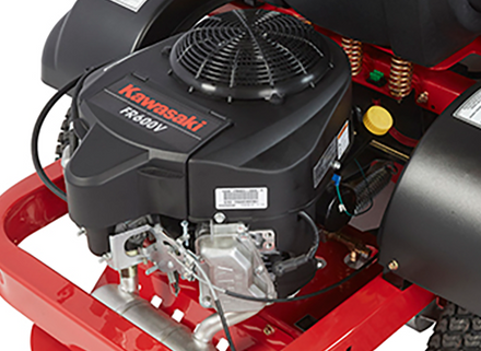Premium V-Twin engines power each Country Clipper mower.