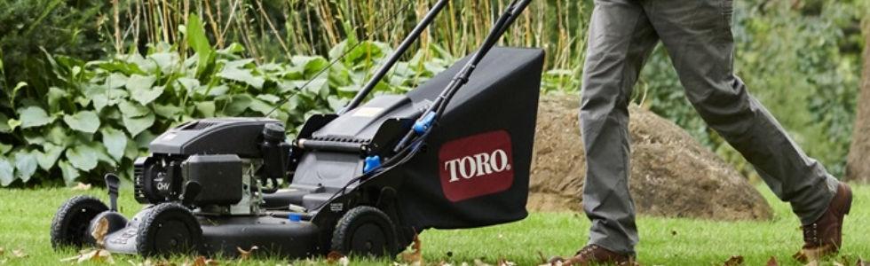 Toro powered push mowers in Muncie