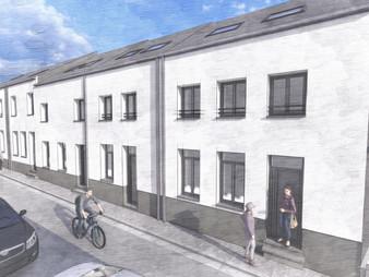 Rénovation et transformation d'un ensemble de logements I Permis d'urbanisme I Beaumont