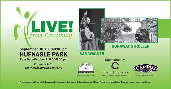 Live! from Lewisburg Wagner-Stroller FB