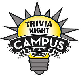 Campus Theatre Trivia Night graphic outl