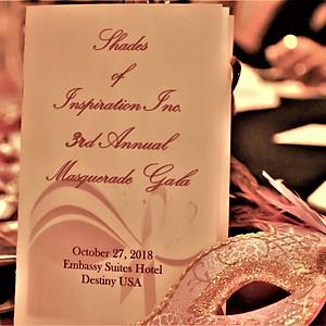 Shade of Inspiration Masquerade Gala