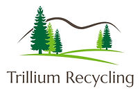 Trillium Recycling, LinkABag, Recycle Trillium Blue linkabag bottles cans bags recycling visible recycling environment Earth green clean LLDPE 50 gallon bags