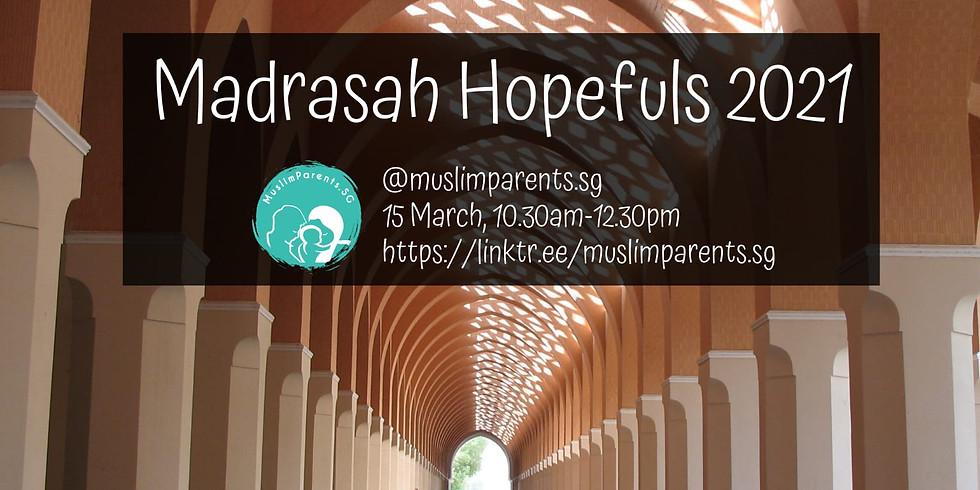 Webinar: Madrasah Hopefuls 2021