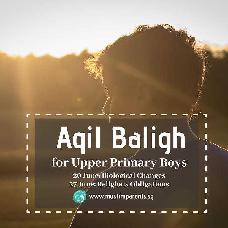 Aqil Baligh: Upper Primary Boys (ZOOM Course)