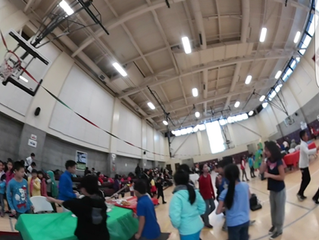 Magic of the Season at the Betty Ann Ong Chinese Recreation Center