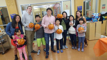 Pumpkin Carving YMCA mentorship night
