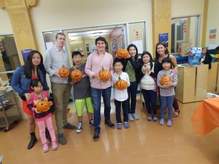 Pumpkin Carving YMCA mentorship night