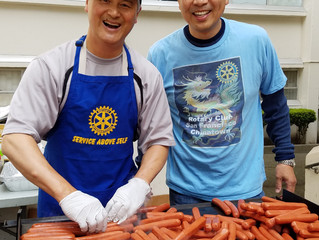 Ping Yuen Peace Project #2, It's a BBQ for the residents