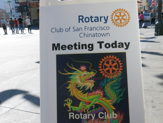 First Saturday club meeting for Rotary Club of S.F. Chinatown