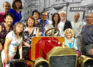 Rotary SF Chinatown makes sister club weekend visit to Rotary Club of Westwood Village in Los Angele