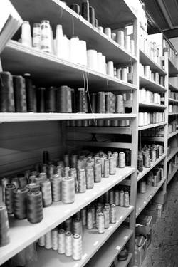Stock fils dans nos ateliers