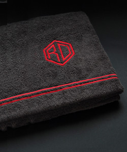 serviette brodé