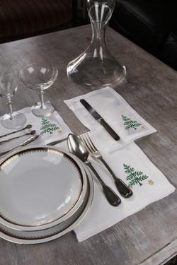 Sets de table brodés
