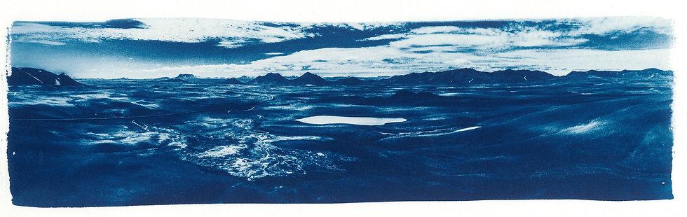 Black Valley // 13 // Original Cyanotype Print