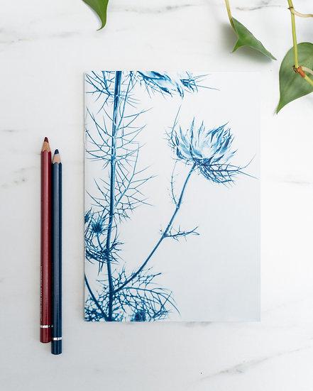 "A5 Notebook/sketchbook ""Awakening the senses II"""