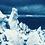 Thumbnail: Þórisjökull // 11 // Original Cyanotype Print