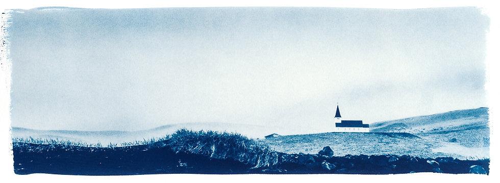 Hope // 07 // Original Cyanotype Print