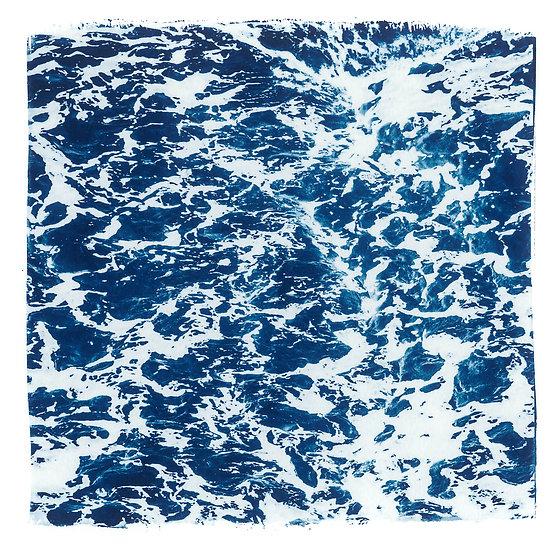 Ocean // 10 // Original Cyanotype Print
