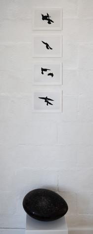 Jean Jacques Benichou présente les oiseaux une calligraphie dessinée dans le ciel