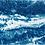 Thumbnail: River Run // 39 // Original Cyanotype Print