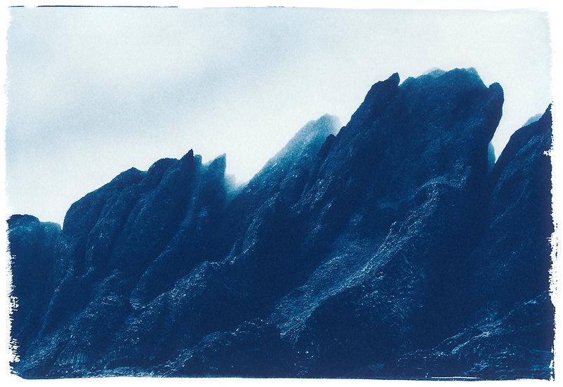 Iceland // 03 // Original Cyanotype Print