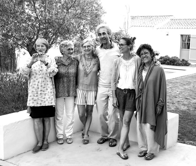 Madé Paintendre, Marie Françoise Pinguet, Dominique Rincé Barjou, Jean Jacques Benichou, Céline Garcia Simonin, Luz Benichou