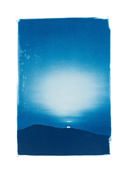Rêveries Nomades // 23 //  Original Cyanotype