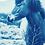 Thumbnail: Hi friend // Poetic Mini Cyanotype on Arches Platine Pap