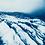 Thumbnail: Vatnajökull // 18 // Original Cyanotype Print