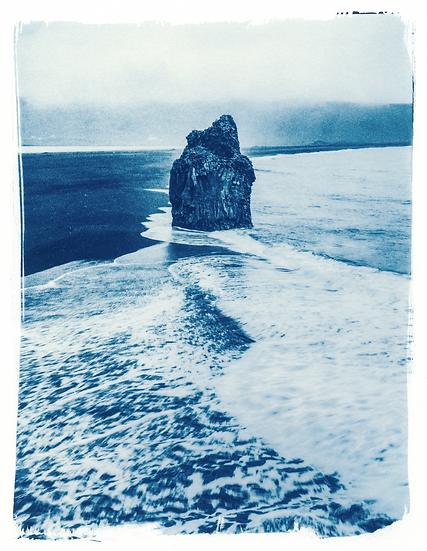 Eagle Rock // 16 // Original Cyanotype Print