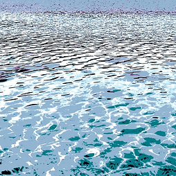 Sea Patterns 6, Art, Canvas Prints, Abstract Art, Wall Art, Paintings