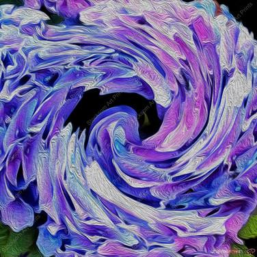 Abstract Garden 10 ....24 x 24.JPG