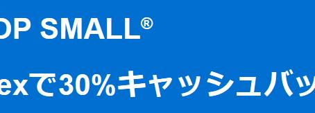 「Shop Small」 Amexのお支払いで30%キャッシュバック