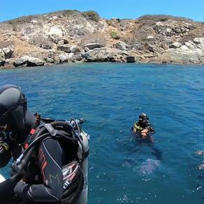 Bautismo submarino en Pichidangui