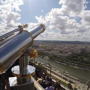 Subiendo la Torre Eiffel