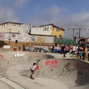 Skatepark de Algarrobo brilló con GestiónArte