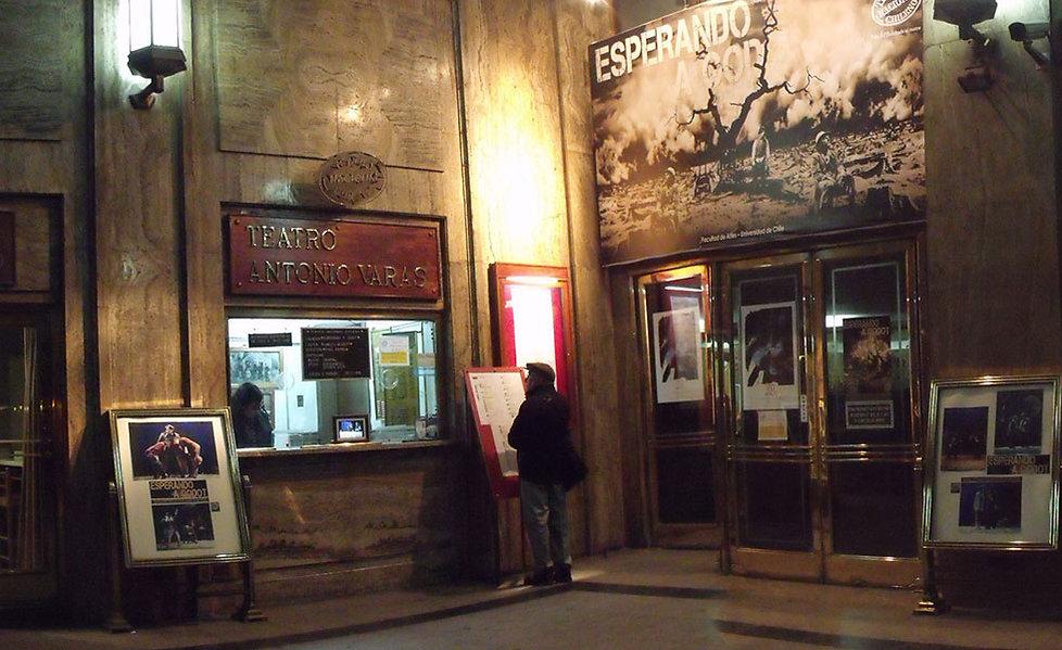 Sala Antonio Varas | Teatro Nacional Chileno
