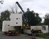 Montáž kontejnerové ČOV