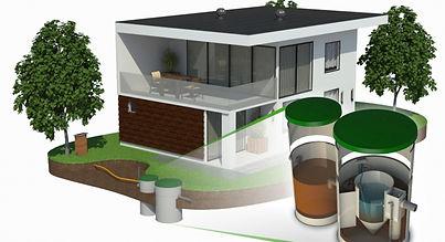 Domovní ČOV Bio Cleaner Duo P-LESS