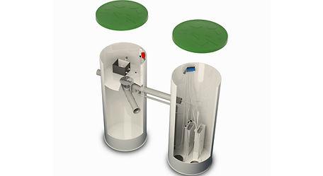 Domovní membránová ČOV Bio Cleaner